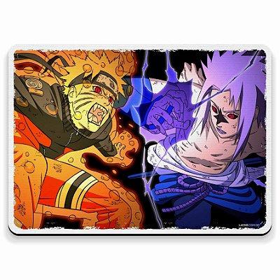 Naruto Bijuu vs Sasuke Maldição - Mouse Pad