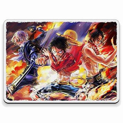 Luffy Sabo e Ace - Mouse Pad