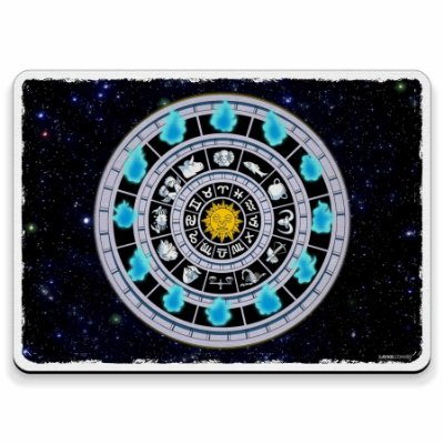 Relógio de Fogo Cavaleiros do Zodíaco - Mouse Pad