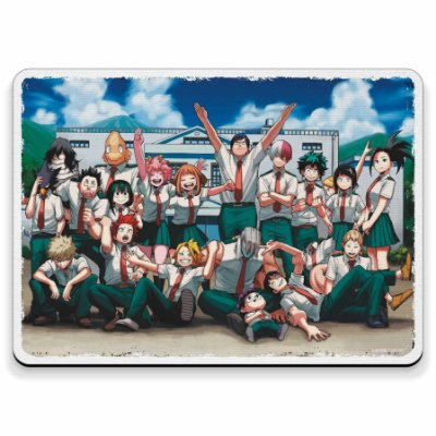 Turma 1A Boku no Hero - Mouse Pad