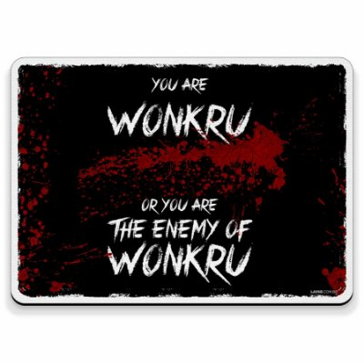 You Are Wonkru... The 100 - Mouse Pad