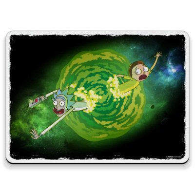 Rick and Morty - Mouse Pad