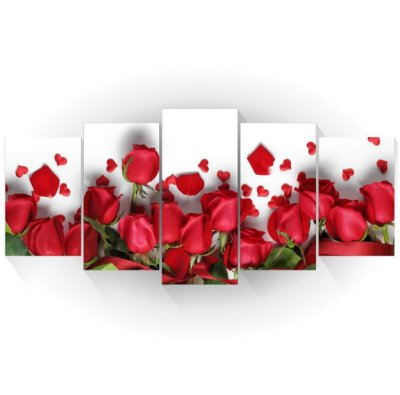 Mosaico Rosas Vermelhas