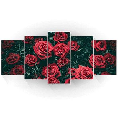 Mosaico Rosas Vermelhas 01