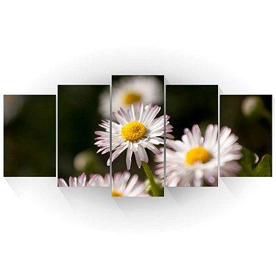 Mosaico Margaridas Brancas 01