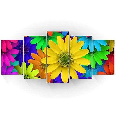Mosaico Margaridas Coloridas
