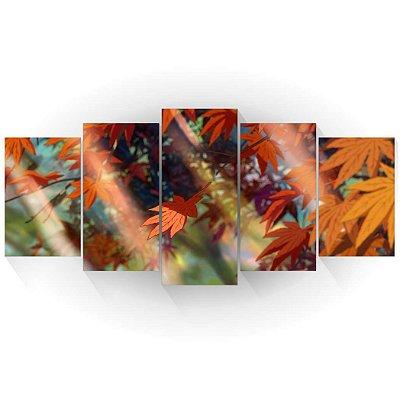 Mosaico Folhas Outono