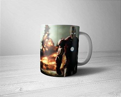 Caneca Personalizada Homem de Ferro