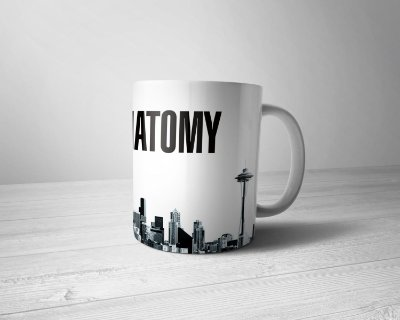 Caneca Personalizada Grey's Anatomy