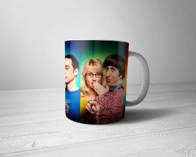 Caneca Personalizada The Big Bang Theory