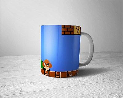 Caneca Personalizada Super Mario