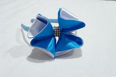 Tiara Luxo Azul