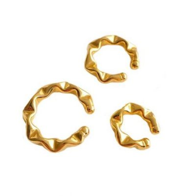 Piercings Fakes dourado- Juliette Freire