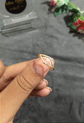 Anel geométrico losango