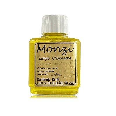 Monzi Amarelo - Folheados/Semijoias