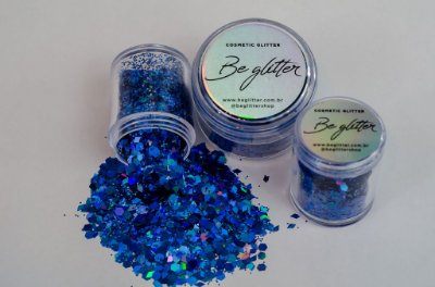 Glitter Sky Blue
