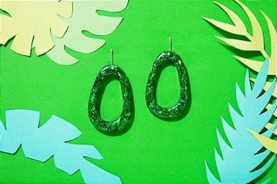 Brinco Lagoa - Emerald Green