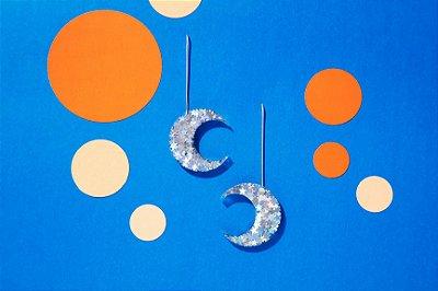 Brinco Lua - Silver Star