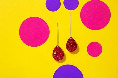 Brinco Pingo - Red