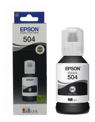 Refil Epson 504/544 black original 127ML