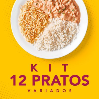 KIT 12 Pratos