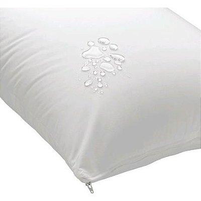 Protetor de Travesseiro Impermeável com zíper - Branco - Kaza+