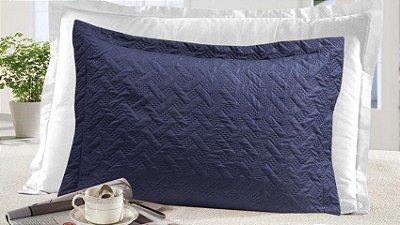Porta Travesseiro Gigante com 4 Abas Moderno Realce - Laus Marinho - Sultan