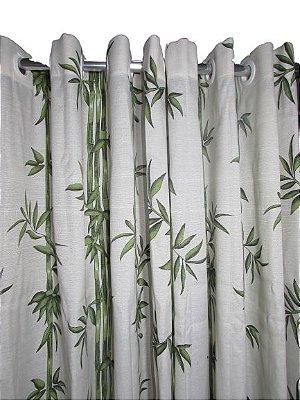Cortina Rústica Longa - Bambu - Ylos 3,00 x 2,60