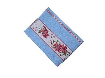 Toalha de Rosto Luna - Azul Celeste - Olinda Têxtil 7679