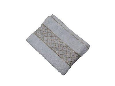 Toalha de Rosto Verona - Branco - Olinda Têxtil 0001