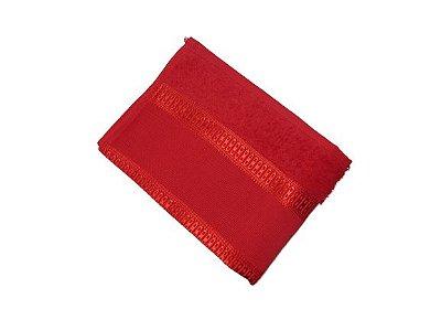 Toalha de Rosto Florence - Vermelho - Olinda Têxtil 5007