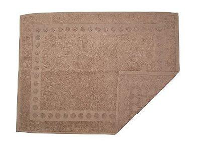 Toalha De Piso Para Banheiro - Castanho - Olinda Têxtil