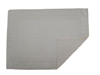 Toalha De Piso Para Banheiro - Creme - Olinda Têxtil