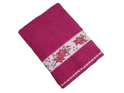 Toalha de Banho Luna - Uva - Olinda Têxtil