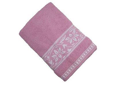 Toalha de Banho Ornato - Rosa - Olinda Têxtil