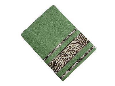 Toalha de Banho Africa - Verde - Olinda Têxtil