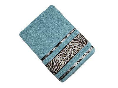 Toalha de Banho Africa - Marinho - Olinda Têxtil
