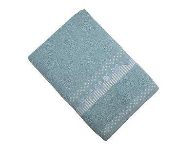 Toalha de Banho Amare - Azul Celeste - Olinda Têxtil