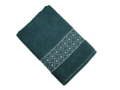 Toalha de Banho Verona - Verde Imperial - Olinda Têxtil