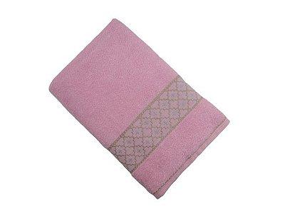 Toalha de Banho Verona - Rosa - Olinda Têxtil
