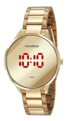 Relógio Mondaine Feminino Original Garantia NF 32060LPMVDE1