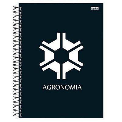 Caderno Agronomia 10 Matérias 200 Folhas São Domingos