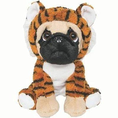 Pelúcia Cachorrinho Pug Tigrinho Buba 6151