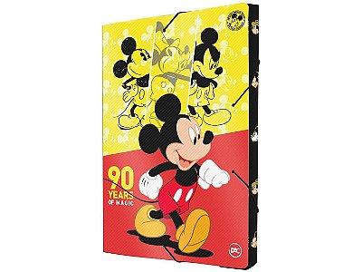 Pasta com Aba 23,2x33,2cm DAC com Elástico - Mickey Mouse DAC