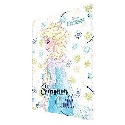 Pasta Aba Elástico Fina Frozen Elza Dac Summer Chill