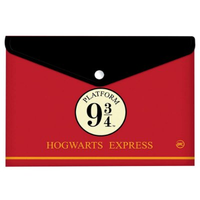 Pasta Malote Dac A4 Botão Harry Potter 2978