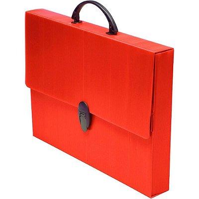 Maleta Escolar Polionda Vermelha 280mmX379mmX45mm 205 Polibras