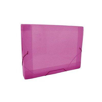 Pasta Aba Elástico Mini 2cm Dac Rosa Transparente 183mmX245mm