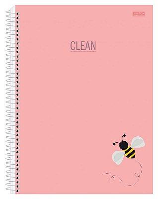 CADERNO UNIVERSITÁRIO CLEAN 10 Matérias: 200 folhas são domingos