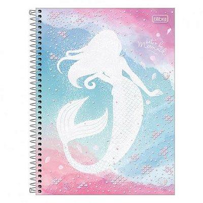 Caderno Universitário 10 Matérias Wonder Sereia -TILIBRA